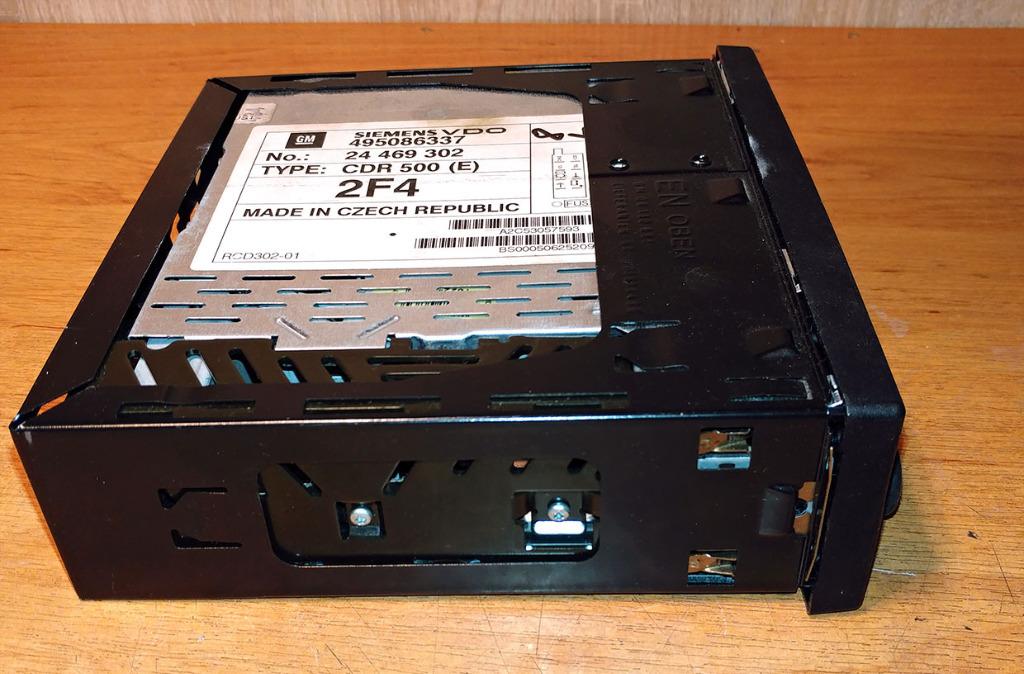 радио cd  siemens vdo cdr 500 495086337 - z кодом