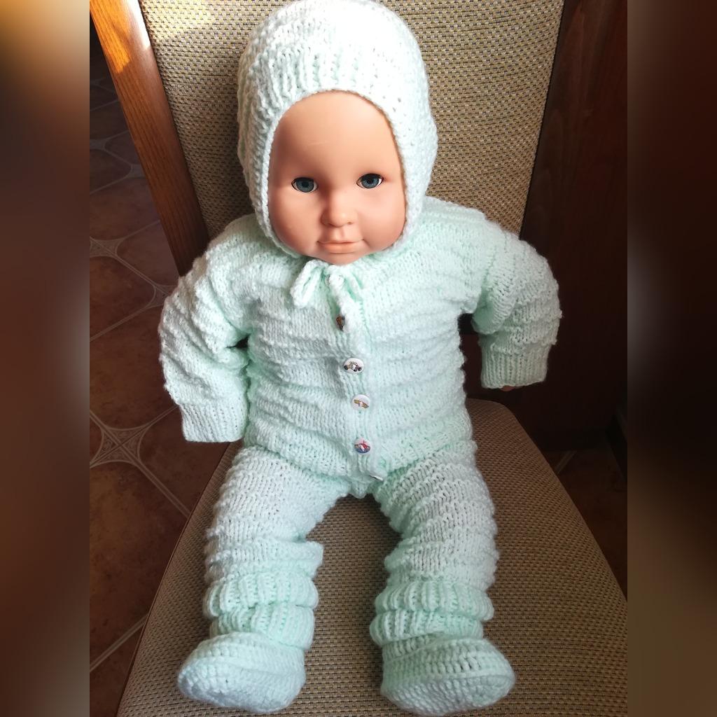 Sweterek Spodenki Czapeczka Buciki Hand Made 0 6 M Kup Teraz Za 120 00 Zl Koscian Allegro Lokalnie