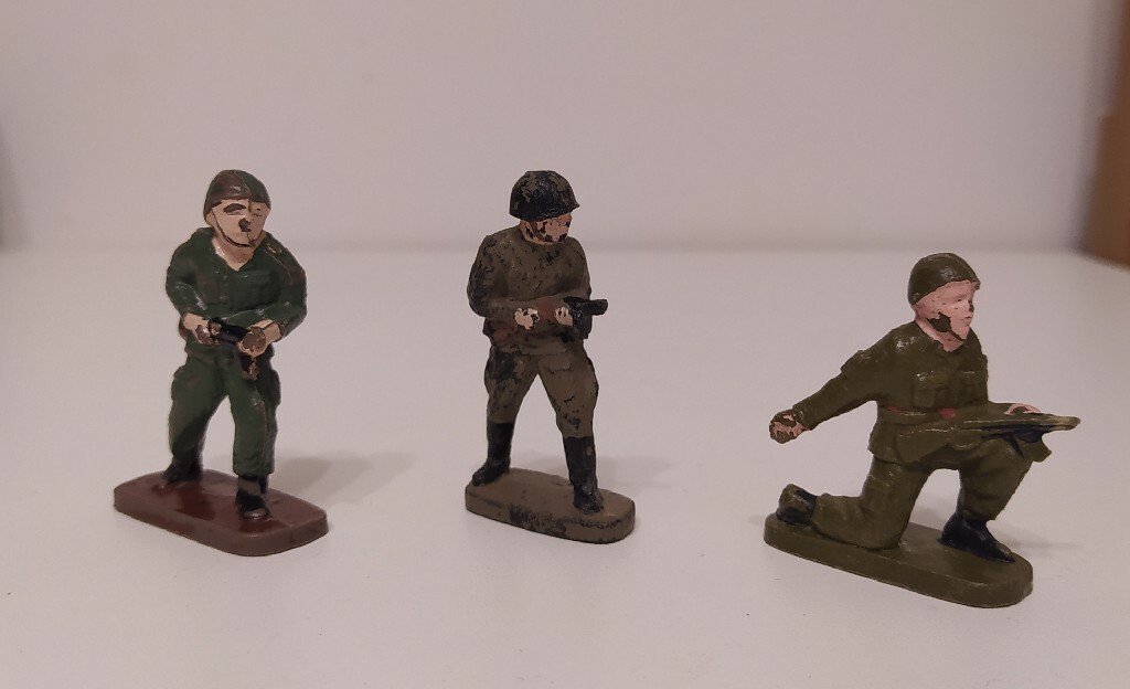 Żołnierzyki z PRL