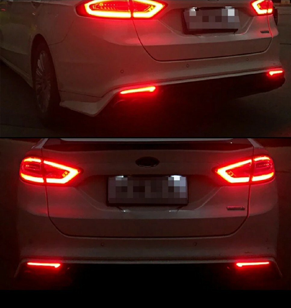 новые задние лампы led к бампера mondeo mk5