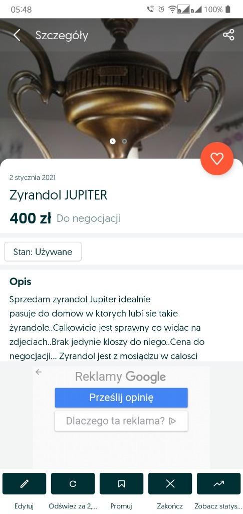 JUPITER ZELANDOR