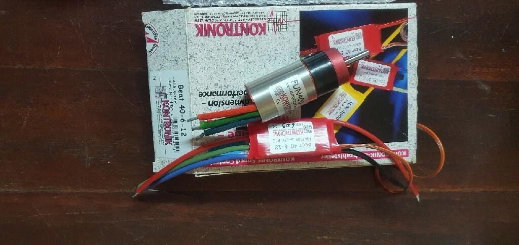 Kontronik Fun 400-42+regulator Beat 40-6-12