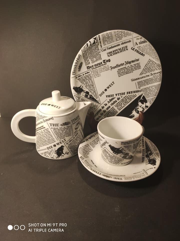 Ekskluzywny zestaw do kawy, herbaty
