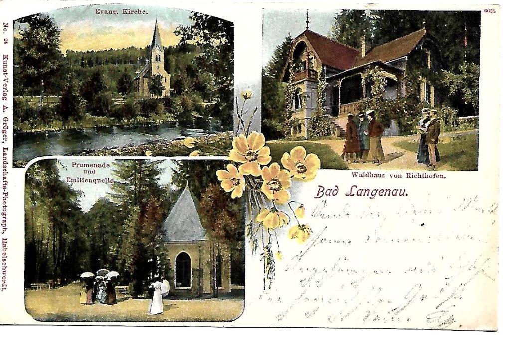 Długopole Zdrój, (Bad Langenau), 1904 rok