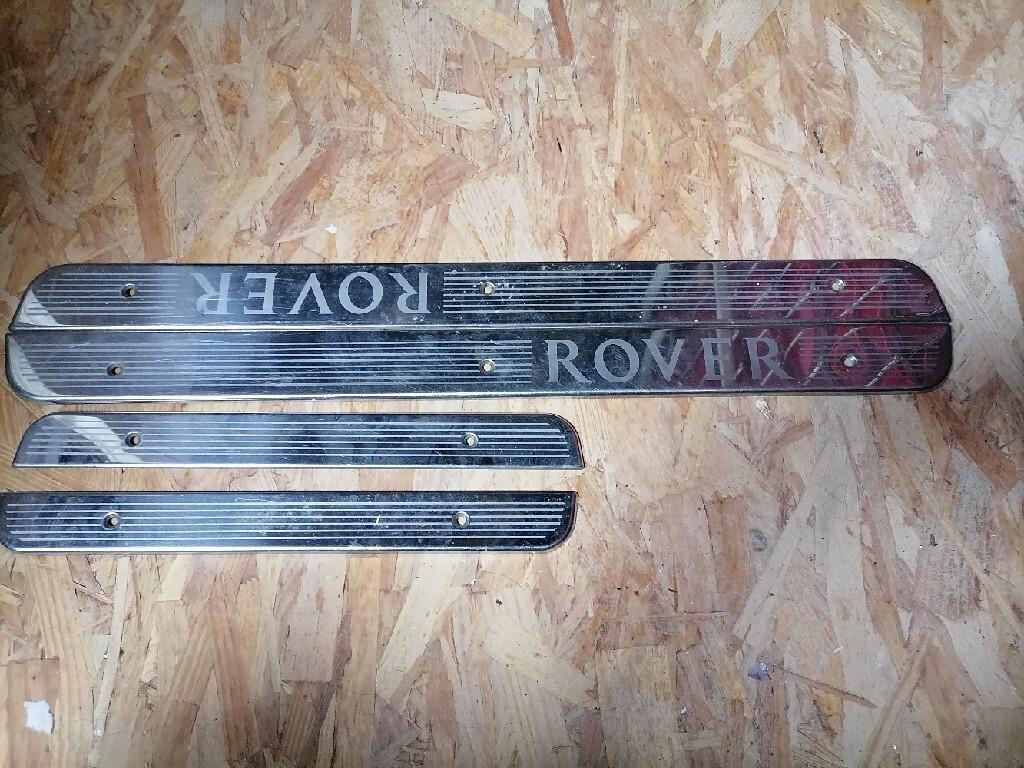 комплект планок накладки хром rover 45 75