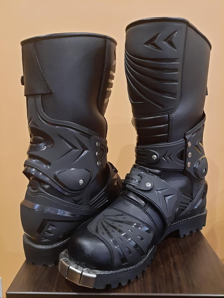 Ботинки cross enduro черное петля okucie 28, 8cm, фото 1