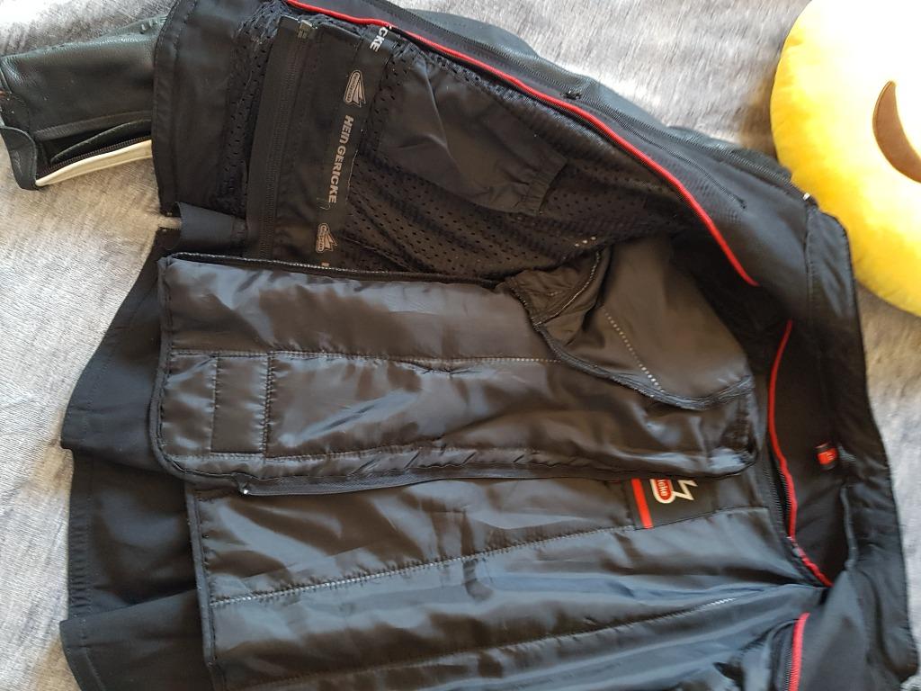 Hein gericke куртка мотоциклетная кожанная женская 40, фото 2