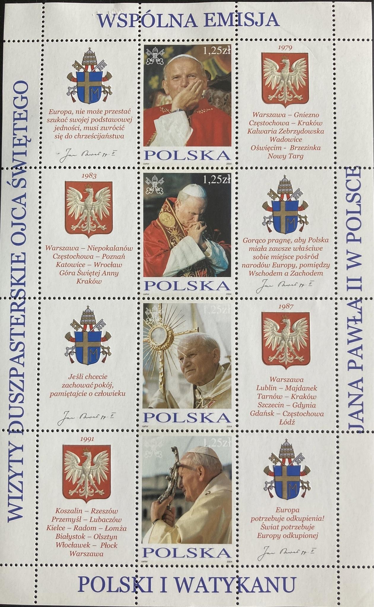 Wizyty duszpasterskie Ojca Świętego Jana Pawła II