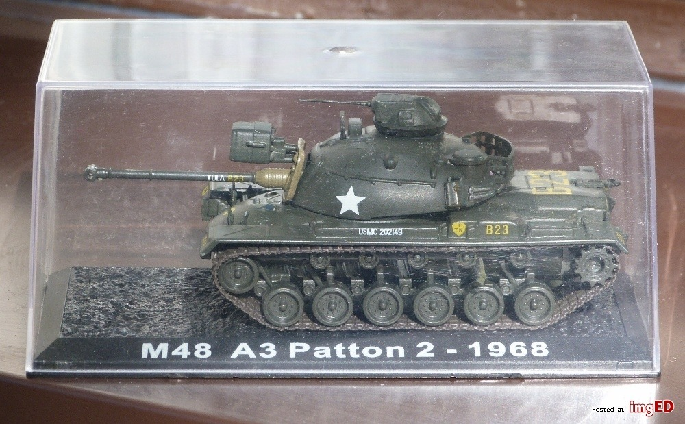 M48 A3 Patton 2 - 1968 1:72