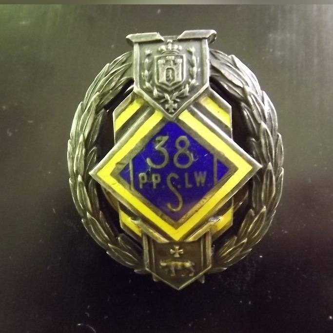 Item The Badge Of The 38th Infantry Regiment Of Riflemen In Lviv