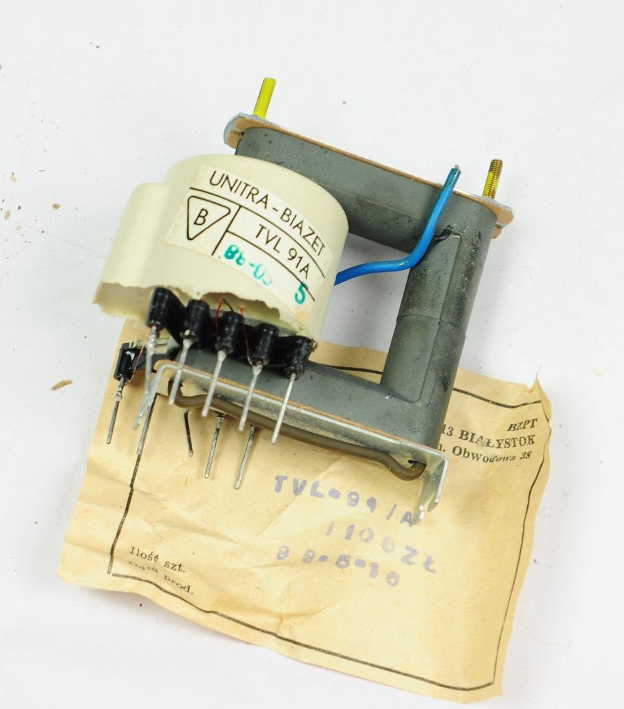 Licytacja Transformator Wn Tvl 94 A Wysokiego Napiecia Mrzezino Allegro Lokalnie