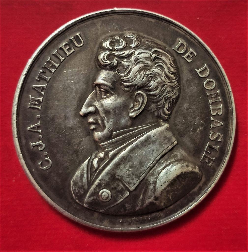 Francja Srebrny Medal 1903 Luneville, piękny st. 1