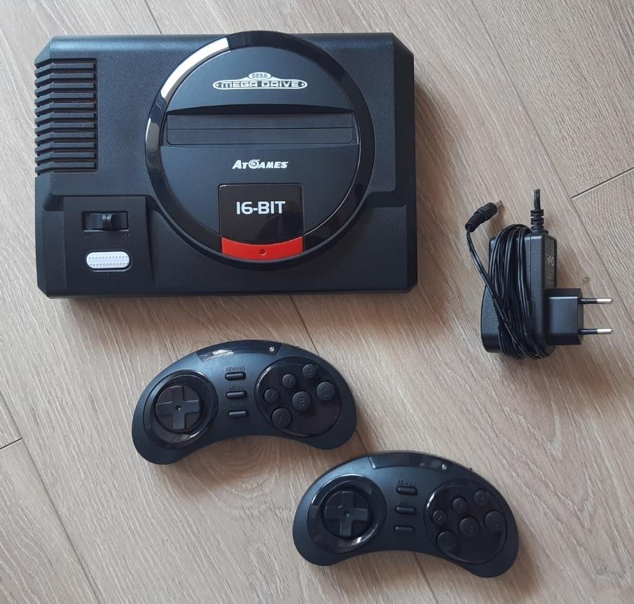 Купить Sega Megadrive Flaschback HD AtGames на Otpravka - цены и фото - доставка из Польши и стран Европы в Украину.