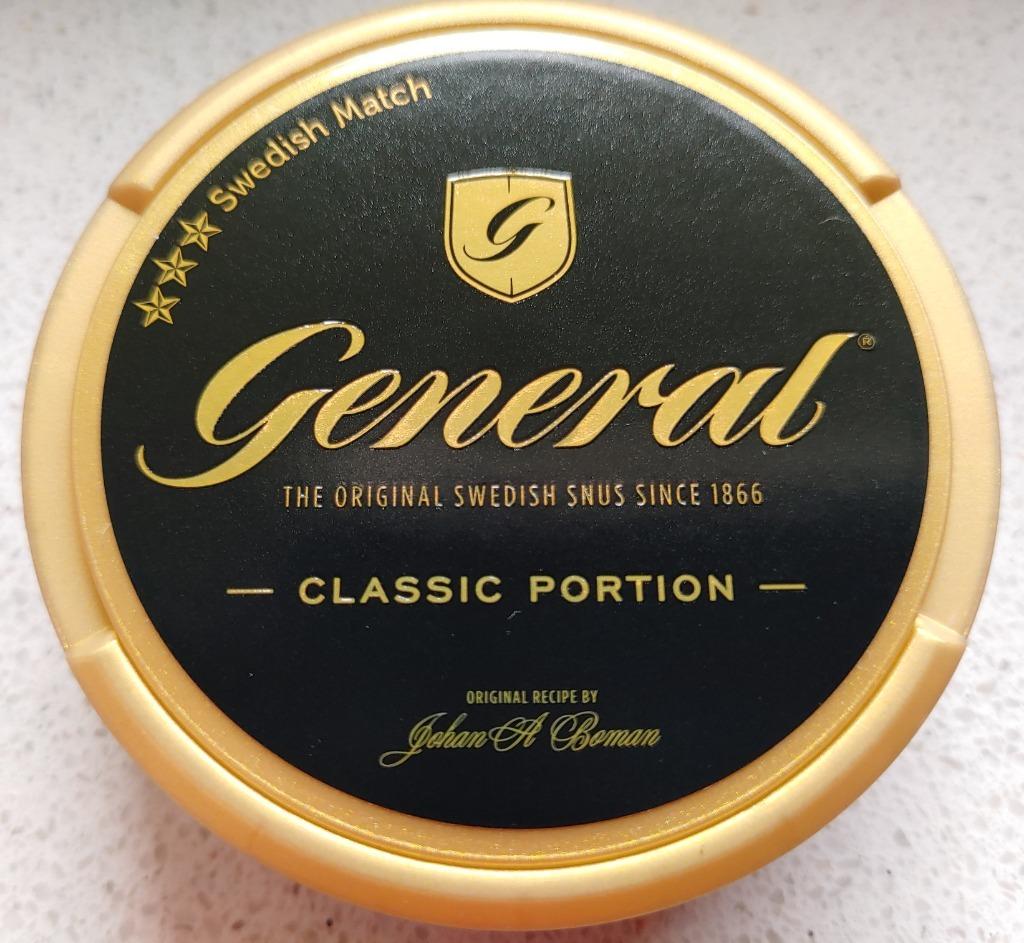 Kolekcja Snus GENERAL classic