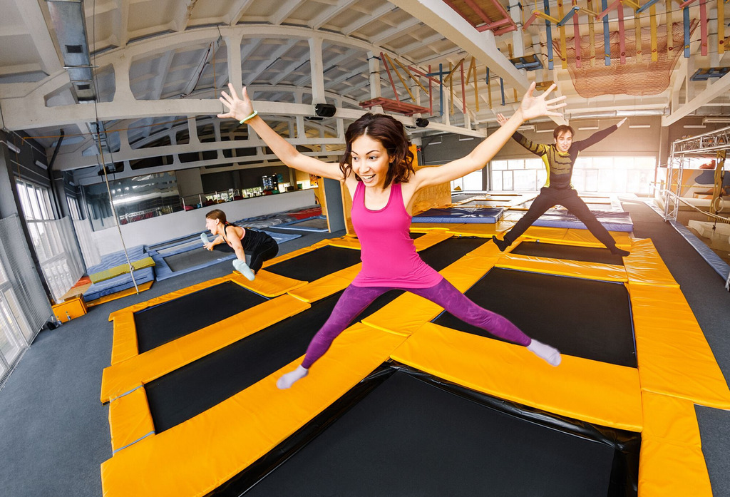 Item Pack FUN in the PARK TRAMPOLINES for 4 OPPORTUNITY!