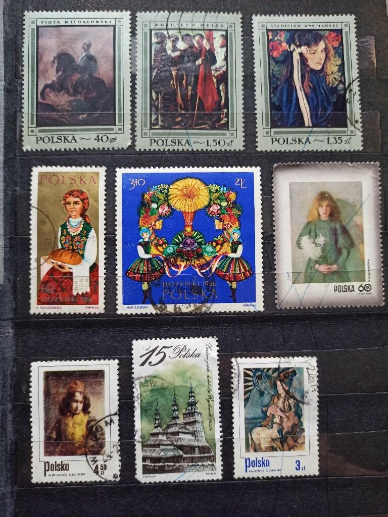 Znaczki pocztowe Dożynki '66, Sichulski, Gierymski