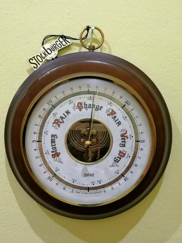 Немецкий барометр Стокбургера