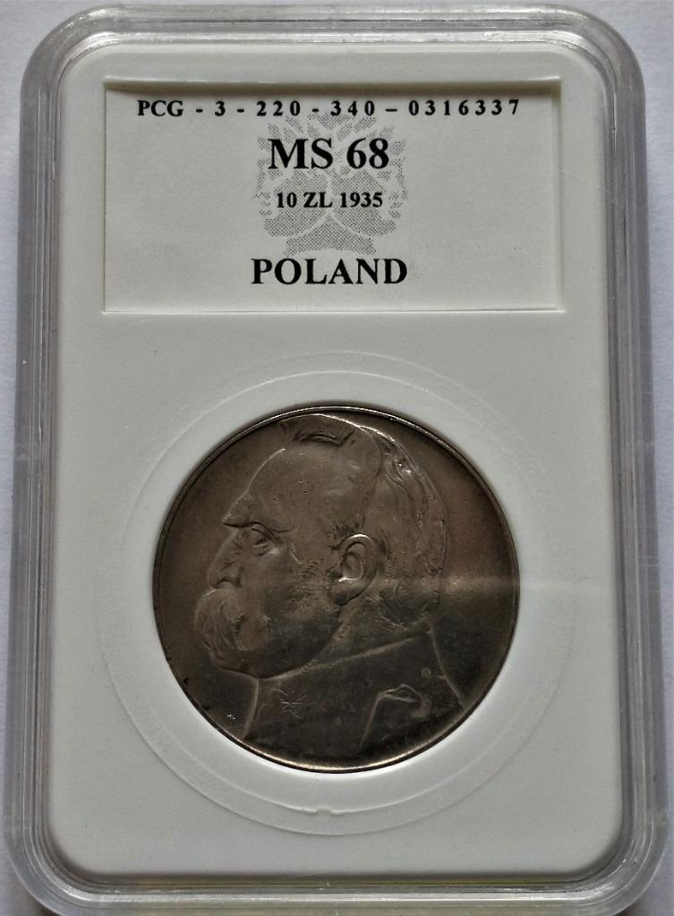 II RP 10 zł 1935 r  p122