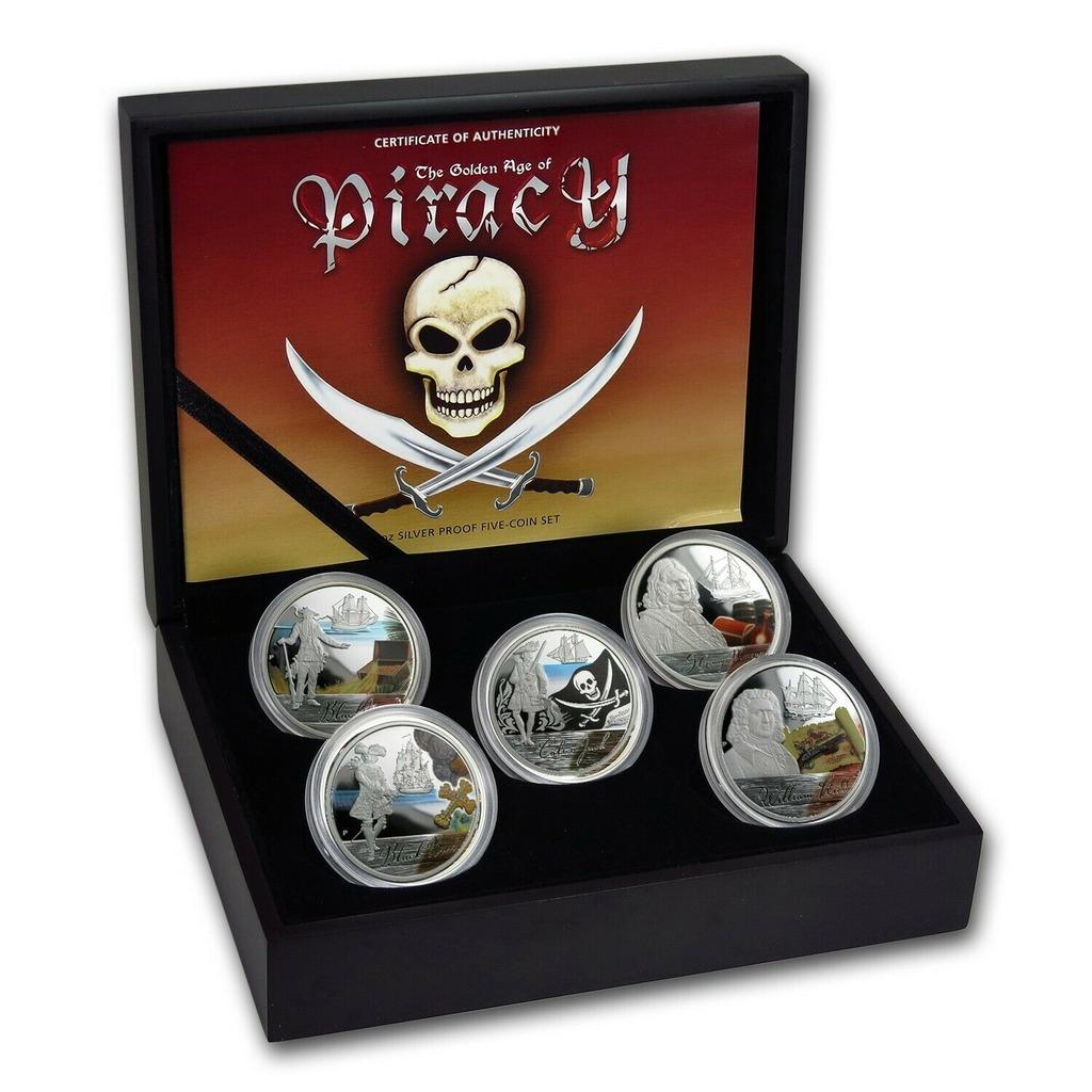 Piraci - Złoty Wiek Piractwa (5 x 1 oz), 2009