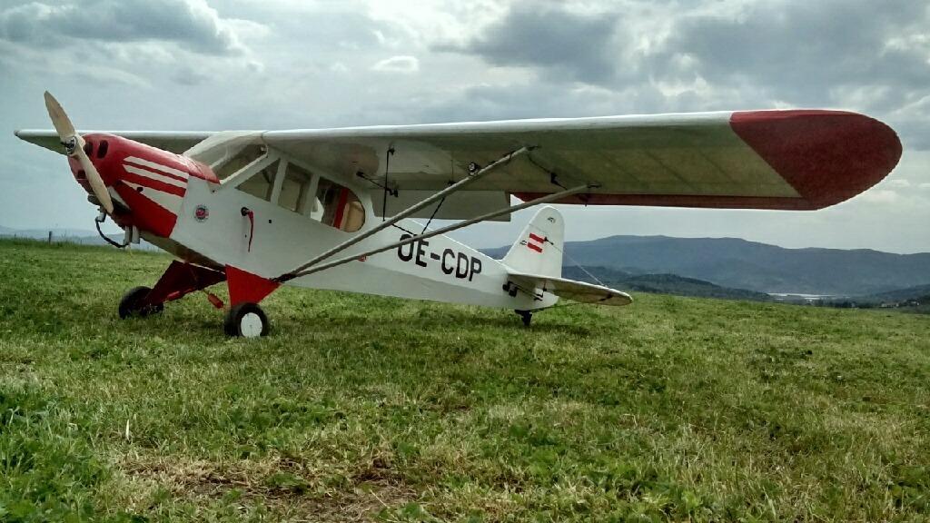 Piper Super Cub масштаб 1/3, размах 360 см