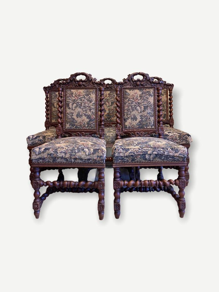 5 идеальных антикварных стульев 19 века Франция