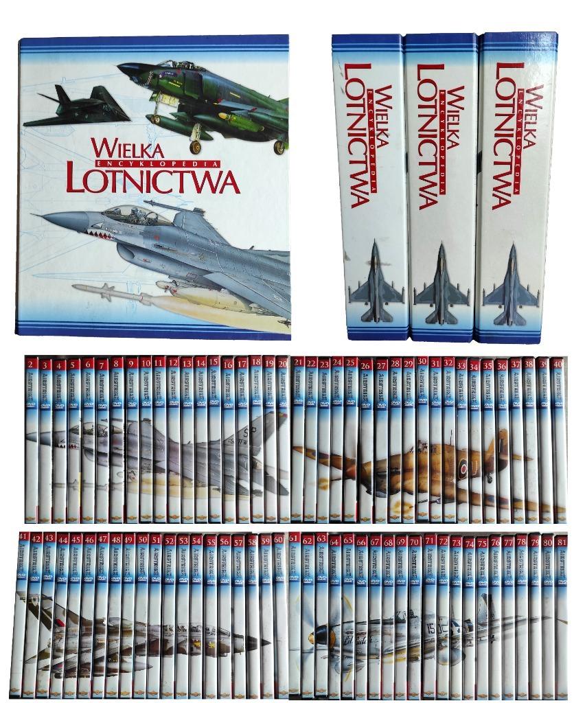 WIELKA ENCYKLOPEDIA LOTNICTWA 2-81, 07/08/09 + DVD