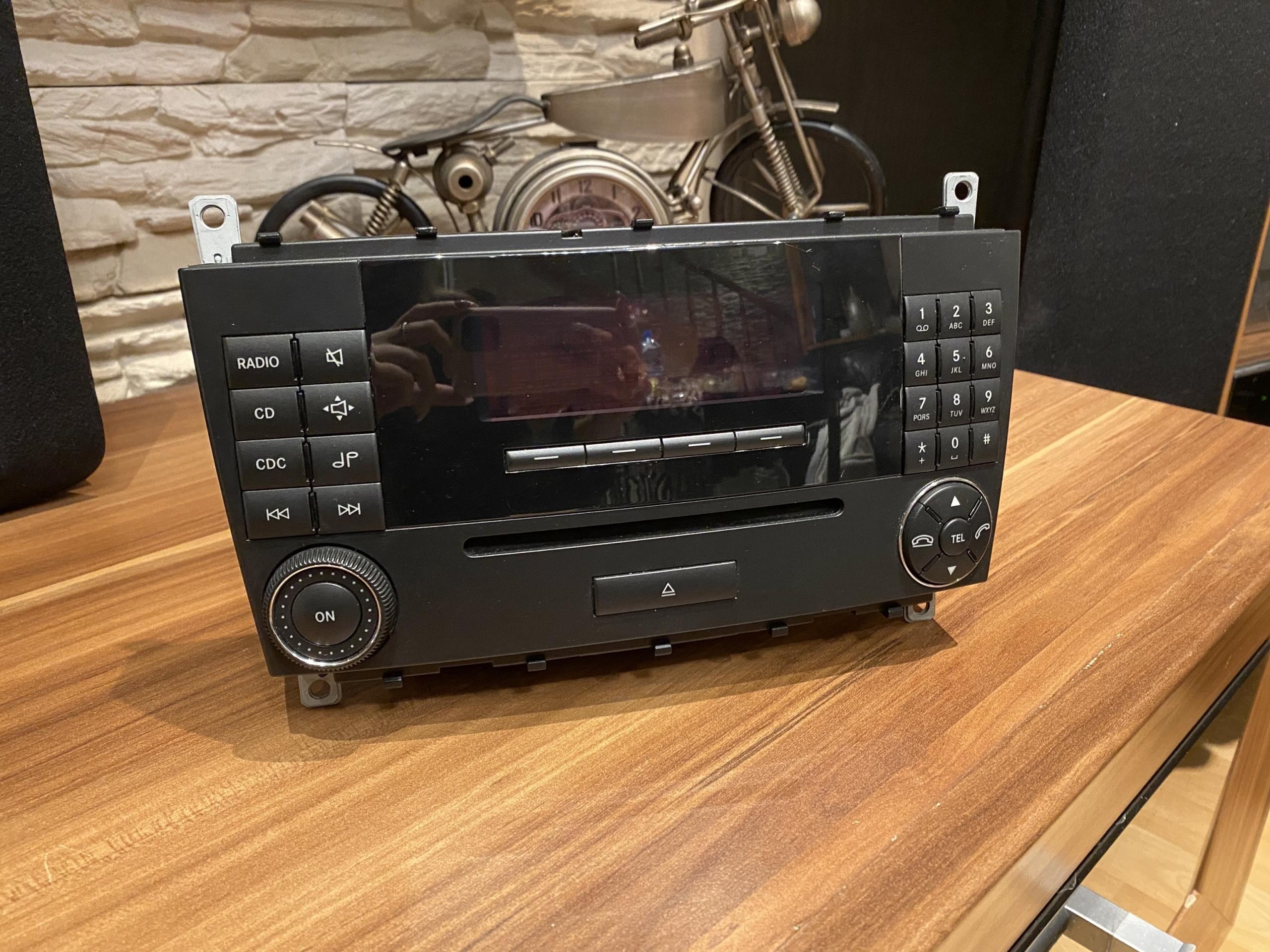 радио mercedes c w203
