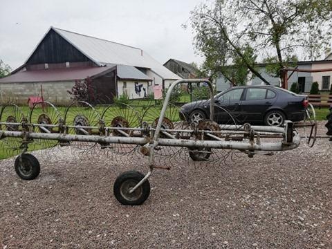 Przetrzasaczo Zgrabiarka 7 Gwiazdowa Kup Teraz Za 600 00 Zl Szczerbakow Allegro Lokalnie