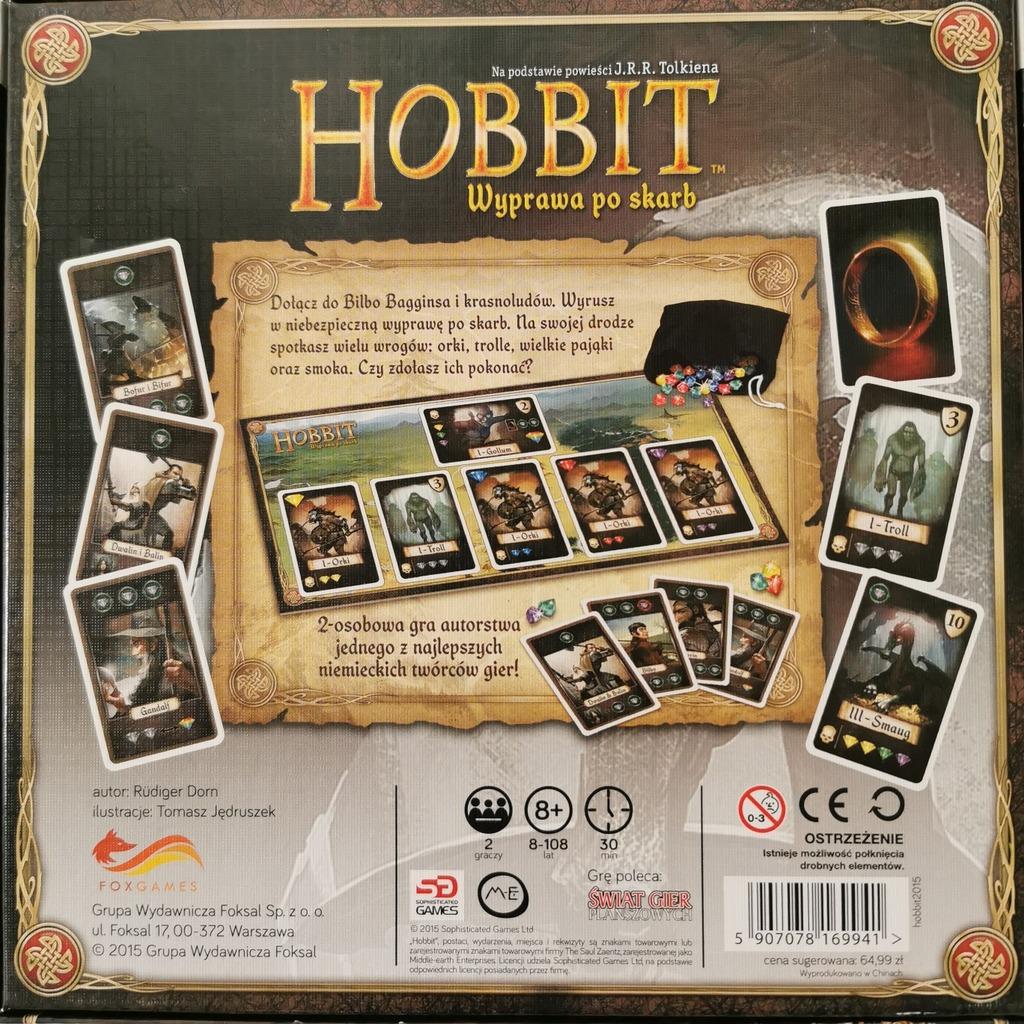 Licytacja Hobbit Wyprawa Po Skarb Gra Planszowa Foxgames Konstancin Jeziorna Allegro Lokalnie