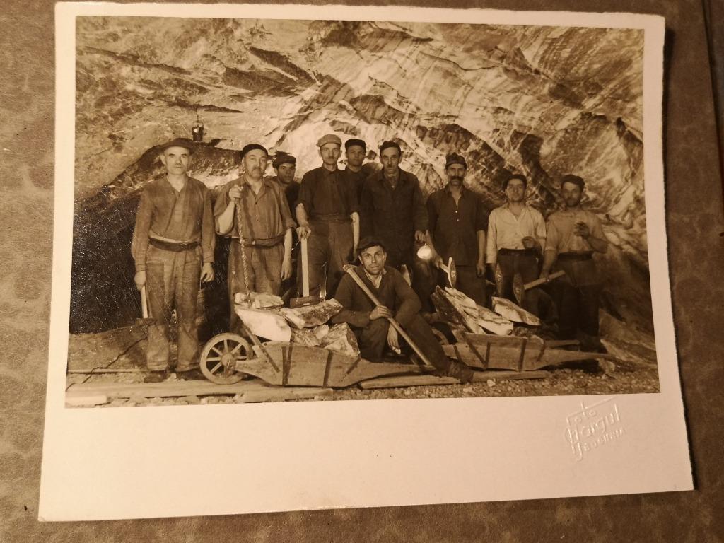 Kopalnia soli Bochnia Foto Gargul Górnicy 1918-39!
