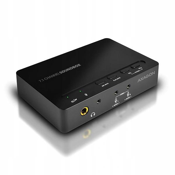 Купить USB7.1 внешняя звуковая карта Axagon на Otpravka - цены и фото - доставка из Польши и стран Европы в Украину.