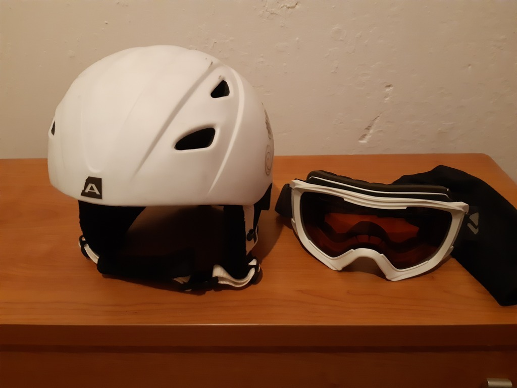 Gogle и kask narciarski / snowbord