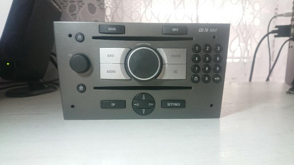 радио cd70 navi opel signum vectra c wylogowane