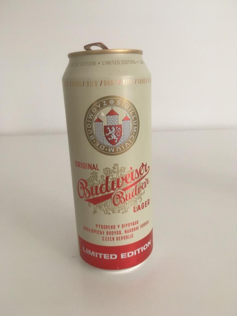 Budweiser Lager kolekcjonerska puszka po piwie