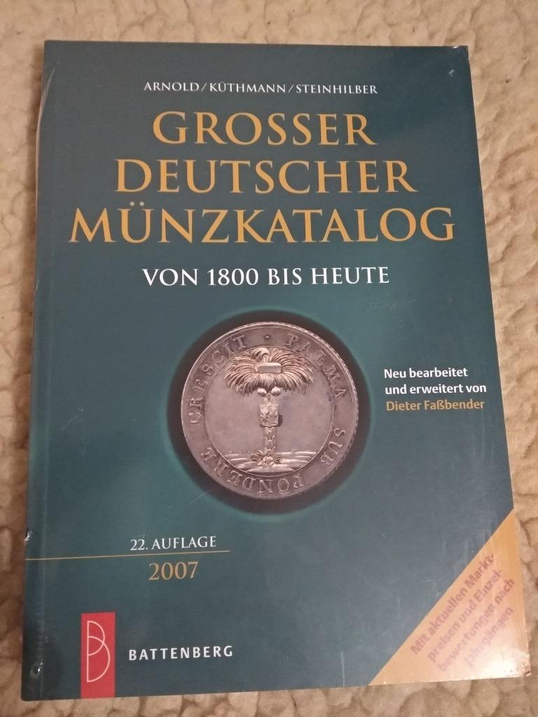 Duży katalog monet niemieckich od 1800 roku
