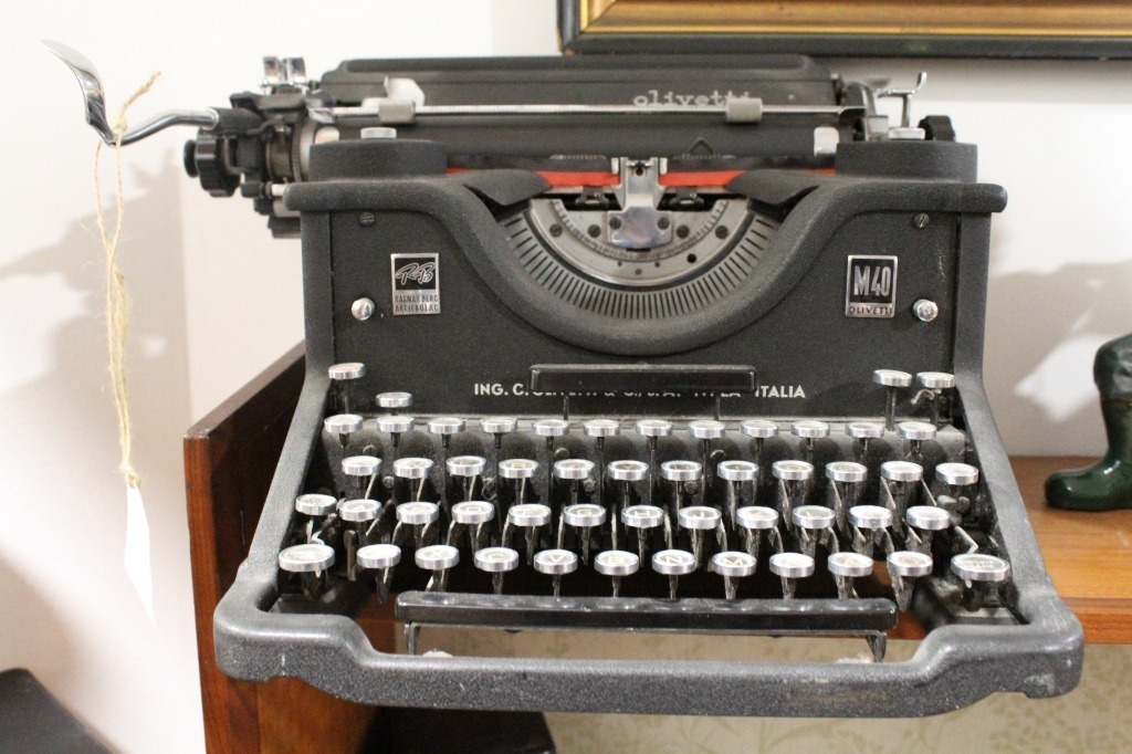 Stara maszyna do pisania vintage lata 30'/40'