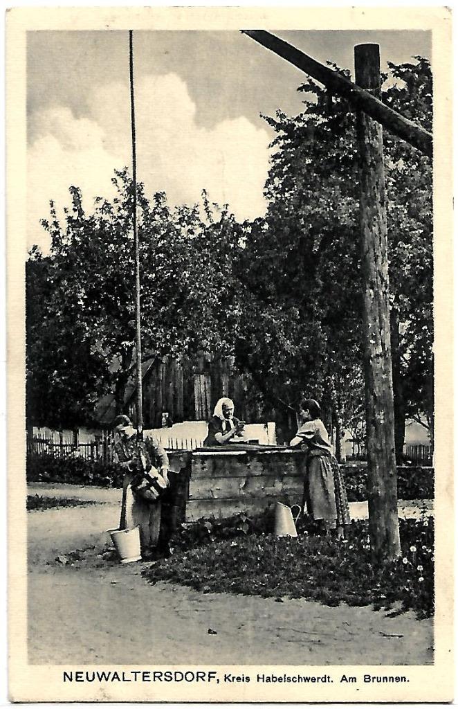 Nowy Waliszów, (Neuwltersdorf), 1917rok RARYTAS!!!