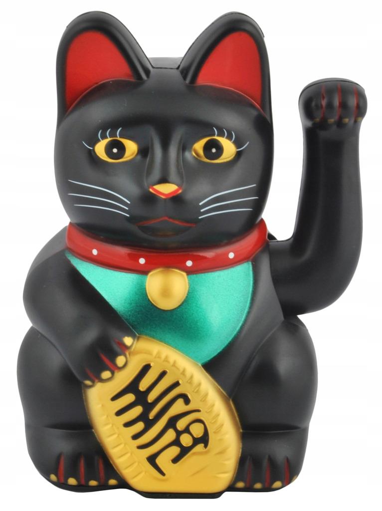 Japonski Kot Maneki Neko Chinski Kot Szczescia Kup Teraz Za 15 00 Zl Wabrzezno Allegro Lokalnie