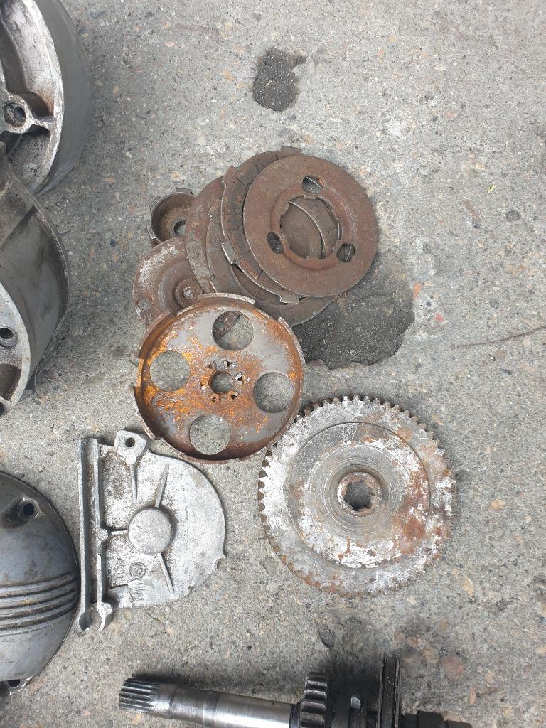 Двигатель запчасти romet мопедик komar kadet 003, фото 2