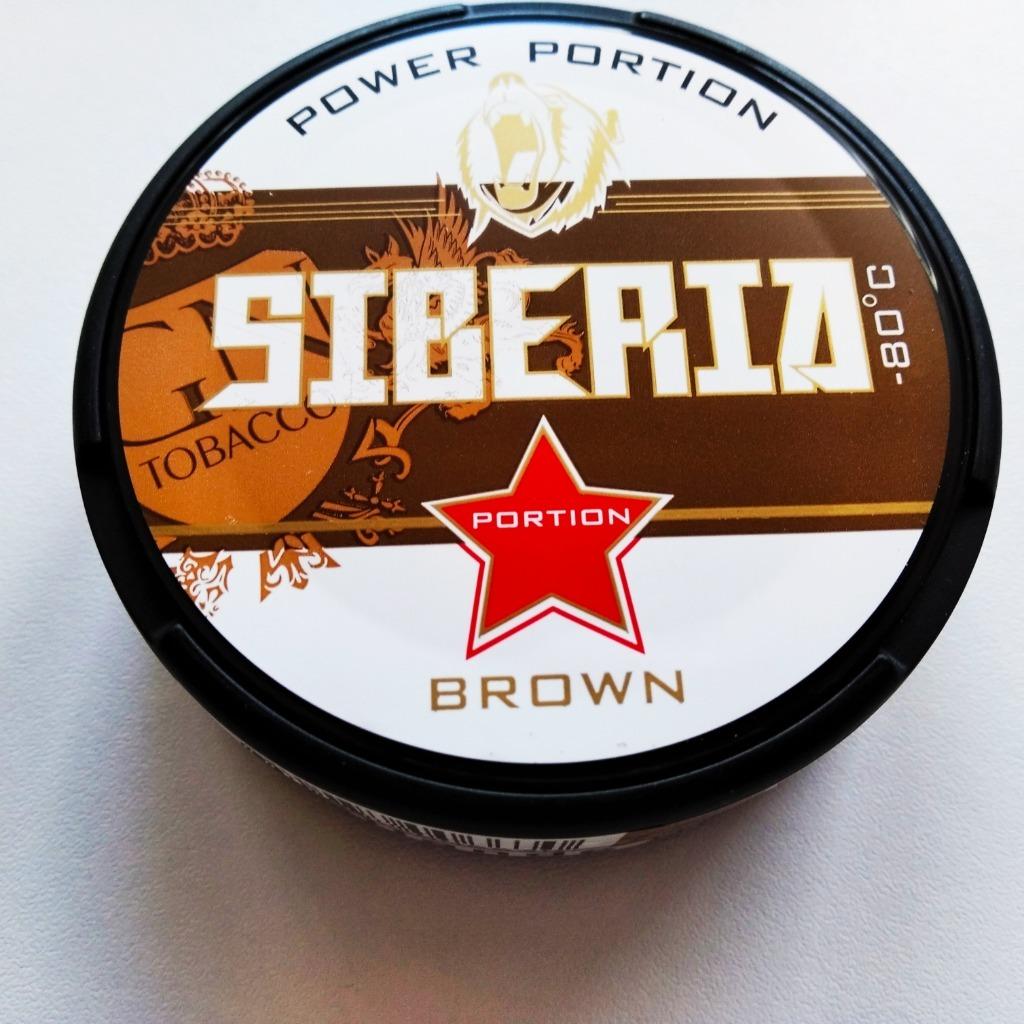 Снюс Сибирь Браун 20 гр Шведские коробки