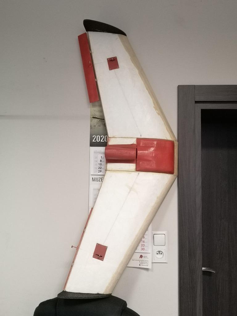 Радиоуправляемое летающее крыло под FPV