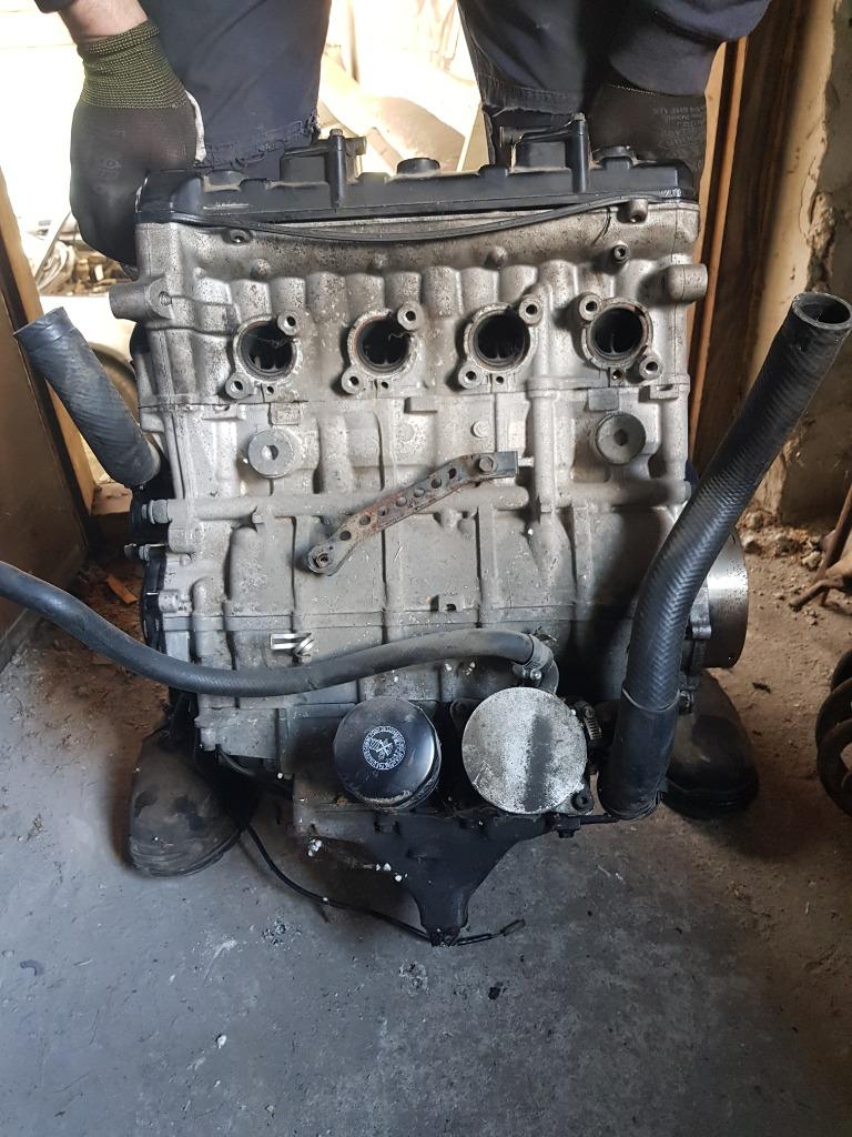 Двигатель suzuki gsxr k3 750 запчасти gsxr 750, фото 2