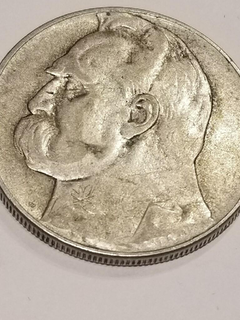 10 zł Piłsudski 1935 r Srebrna moneta piękny stan