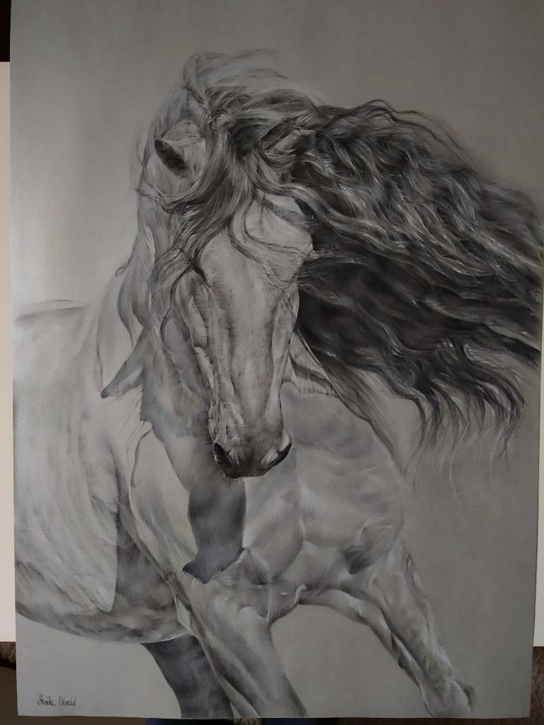 Rysunek, obraz konia