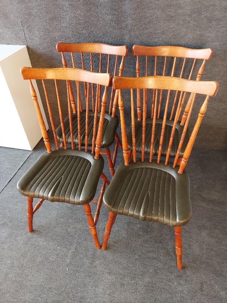 Krzesła drewniane stylowe - vintage - retro