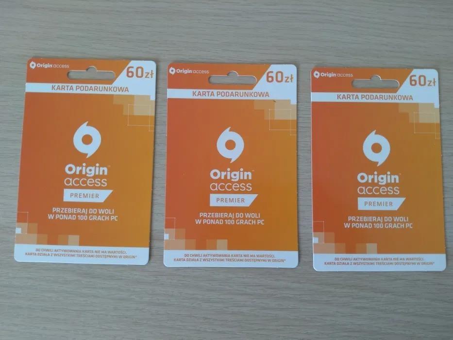 Karty Podarunkowe 60zl Origin Kup Teraz Za 40 00 Zl Tarnow Allegro Lokalnie