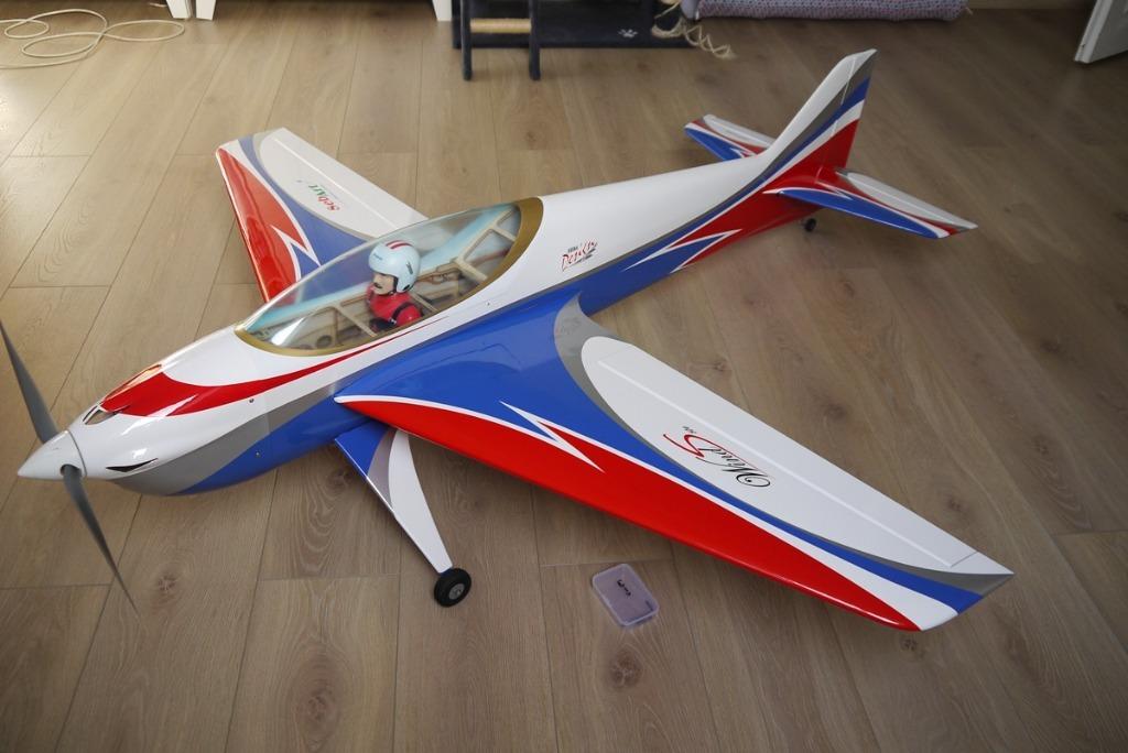 Samolot F3A Sebart Wind S Nowy Futaba Kompletny