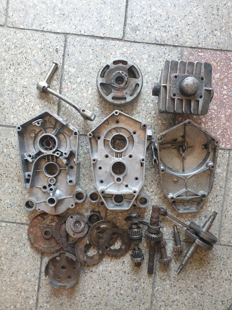 Двигатель запчасти romet мопедик 023 2 передачи, фото 0