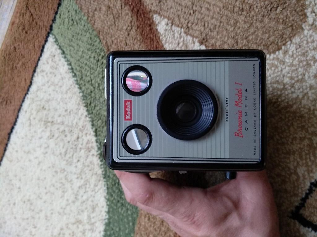 Aparat fotograficzny Kodak brownie model 1