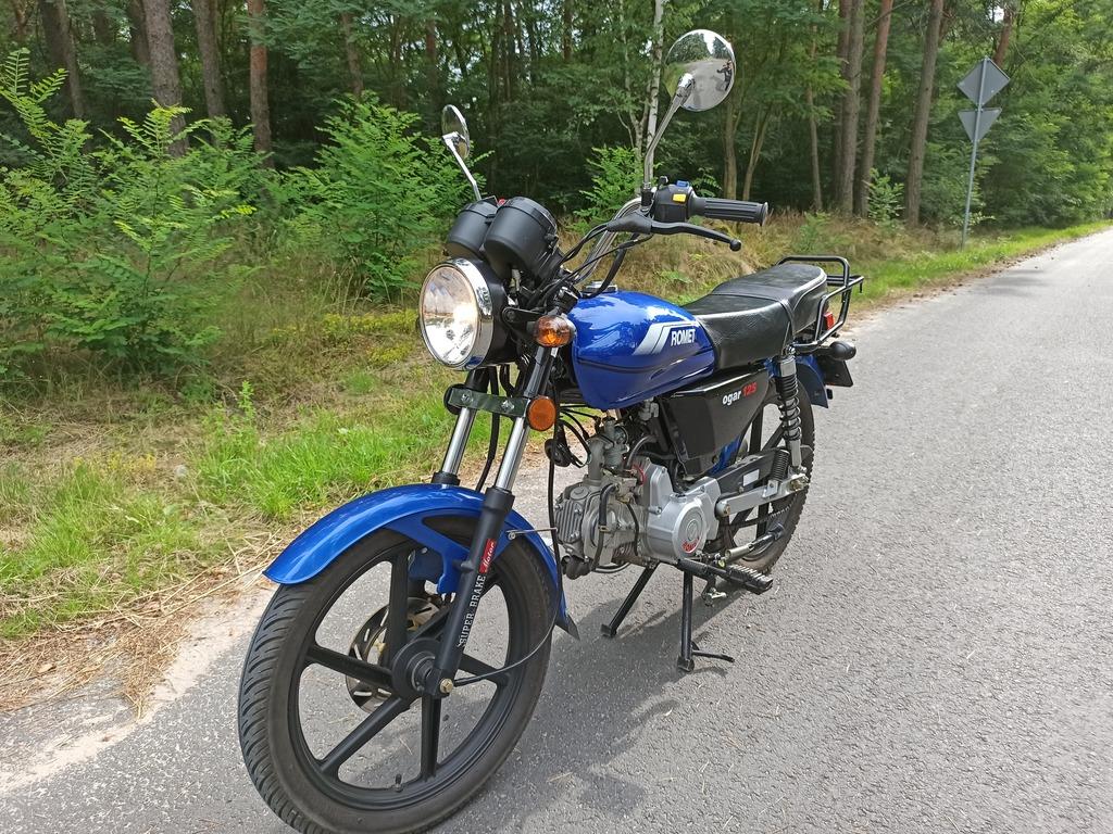 Motocykl Romet Ogar 125 Jak Nowy Cena 2650 00 Zl Bialobloty K Pleszewa Allegro Lokalnie